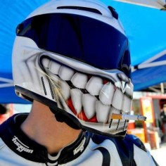 Clever Motorcycle Helmet #GotDrift? Check out this week's #SundayCarHumor post at