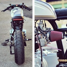 cognito honda CB350 - dat ass for the second time.