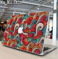 Color Langjuan-Macbook Decal Sticker Macbook Top Decal Macbook Decals Macbook Suit Decals Macbook Stickers Decal for Macbook vinyl skin. $, via Etsy.