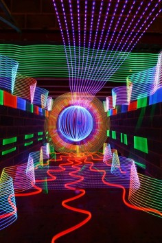 Colorful Light Art Created Using No Digital Manipulation - My Modern Metropolis