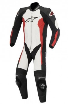 Combinezon Alpinestars Challenger 1 Piese Black/White/Red