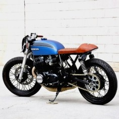combustible-contraptions: Honda 750 Cafe Brat | Seaweed & Gravel