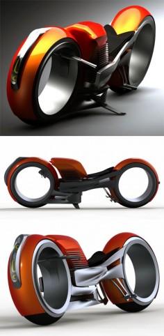 Concept motorcycle design Harley Davidson Circa 2020