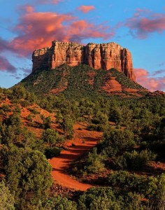 Courthouse Rock, Sedona, Arizona