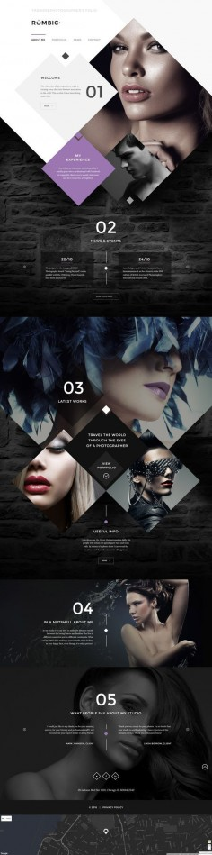 Creative Web Designs for Inspiration #WEB