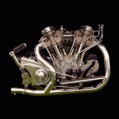 Crocker motorcycle v-twin engine