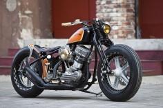 Custom 1951 Harley-Davidson Panhead by Thunderbike
