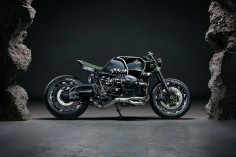 Custom BMW Motorcycle With Camouflage Detailing