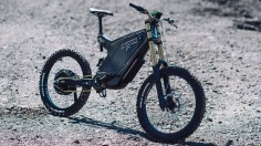 Custom Carbon Electric Mountain Bike | Cargo Bike King