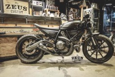 Custom Ducati cafe racer by ZEUS Custom