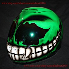 Custom helmet Custom motorcycle helmet by customhelmet2014 on Etsy, $