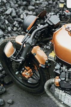 Custom honda CX500