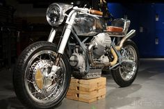 Custom Moto Guzzi 850T *Probably the most beautiful bike I have ever seen*