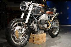 Custom Moto Guzzi 850T *Probably the most beautiful bike I have ever seen*