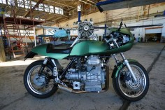 custom moto guzzi cafe - right | george d.