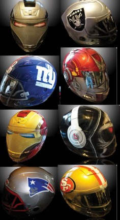 Custom motorcycle helmets   Would love to have a FSU helmet!