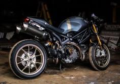 Custom Painted Ducati Monster 1100s