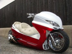 CUSTOM SCOOTERS FROM JAPAN ARTICLE :