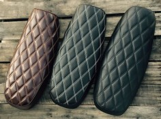 Custom Seats for the Triumph Bonneville, T100, SE, Black, Thruxton and Scrambler