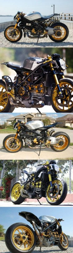 CUSTOM STREETFIGHTER DUCATI 1098 CAFE RACER