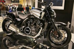 "Customized Yamaha Star Motorcycles V-Max from ""Top 10 Bikes from the 2008 Cycle World International Motorcycle Show."""