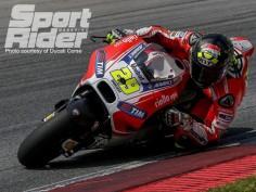 Dall'Igna and Ducati pleased with GP15 progress