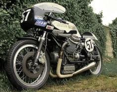 David McMillan's classic Moto Guzzi V7 Sport racer