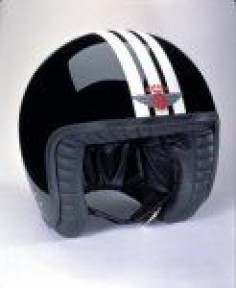Davida Jet 3 Stripe Black White
