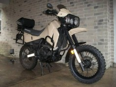 diesel klr 650 | Bad Ass Desert KLR650 , I want one