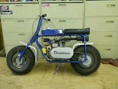 Diesel Minibike
