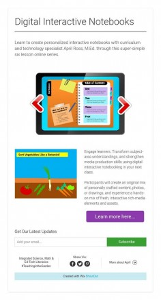 Digital Interactive Notebooks