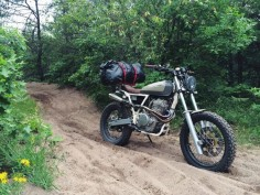 DIRT TALES: Daniel Peter's Custom Honda XR650 Hits The Trails