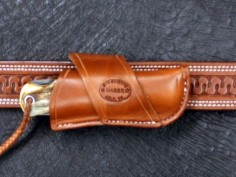 Bullard Leather Mfg. Crossdraw Knife Sheath