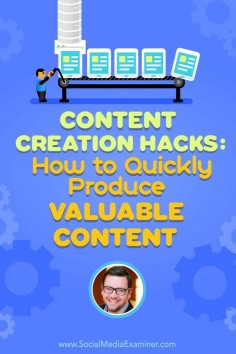 Do you create content for your business?  Looking for an easier way to make your content work for you?  Discover easy ways to create and repurpose your content, courtesy of @Nick Westergaard. Via @Social Media Examiner.