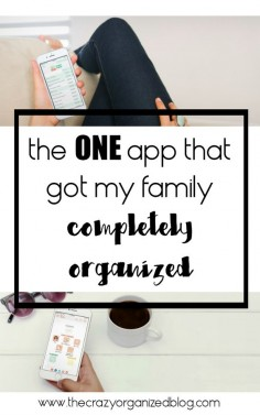 Do you have a separate calendar, checklist, event planner and grocery app? Instead of using so many separate apps that don't sync together, try this ONE app for all your home organizing needs! organizing app, iphone app, best iphone apps, app to keep organized, grocery app, event planning app