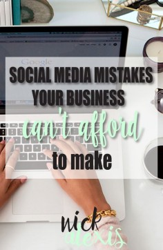 Don't make mistakes online that affect your business offline! Tips to avoid serious social media mistakes!