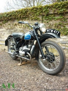 Douglas T35 350cc 1947 Good early Dougie This is a machine we supplied last year a customer who now traded in for a Rudge. In the last 12 months the Duggie has a rebuilt magneto fitted and proved a reliable bike.