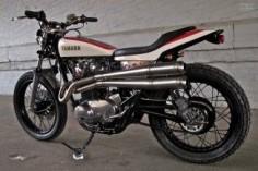 Drogos Yamaha XS650 flat tracker