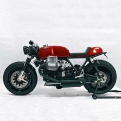 Drop Moto op Instagram: 'Ristretto'.The jointly designed project between Sylvain Berneron of @holographic_hammer and Stefan Bronold JR of Radical Guzzi.