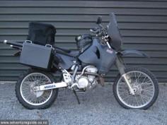 DRZ400 adventure setup