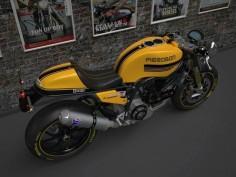 Ducati 1100 café racer.