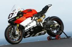 Ducati 1199 MR Racing.