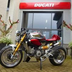 Ducati 1199 Panigale S Cafe Racer 'Ducati Elite II' - Moto Puro - Racing Cafe