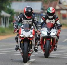 Ducati 1199 Panigale vs Yamaha R6