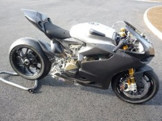 Ducati 1199 RS Panigale set-up to compete in British Superbike championship
