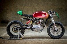 Ducati 125 TS Radical F3 ~ Return of the Cafe Racers
