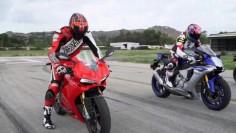 Ducati 1299 Panigale vs Yamaha R1