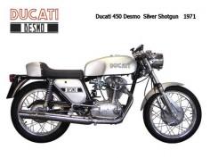 Ducati 450 Desmo Silver Shotgun