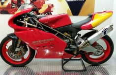 Ducati 550 Supermono: the sound of thunder