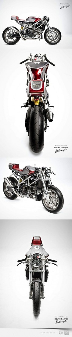 Ducati 749 Cafè Racer by South Garage